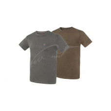Комплект футболок Hallyard Jonas. Розмір L. Зелений/сірий