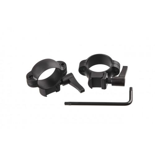 Кільця Burris 1' Low, Dovetail, Steel, Quick Detach  - Фото 3