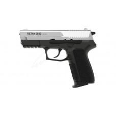 Пістолет стартовий Retay 2022 кал. 9 мм. Колір - chrome.