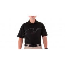 Поло теніска First Tactical Cotton. Розмір - 2XL. Колір - Black