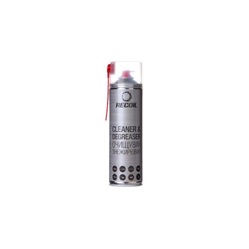Аэрозольный очиститель-обезжириватель RecOil. Объем - 500 мл  - Фото 1