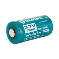 Аккумуляторная батарея Olight RCR 123 Li-Ion 650 mAh