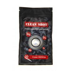 Серветки 'Clean shot' 'Усуває свинець', 10шт