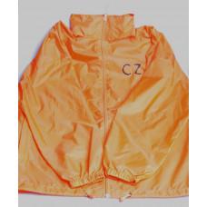 Куртка помаранчева з логотипом CZ
