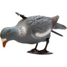 Підсадна опудало ГОЛУБ пластмасовий Hunting Birdland кормящийся на ногах + палиця