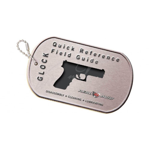 Брелок Real Avid Glock Field Guide  - Фото 1
