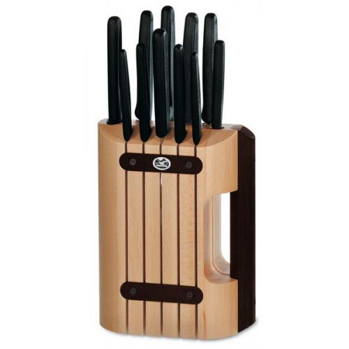 Букова підставка для ножів Victorinox (без ножів)  - Фото 1