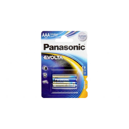 Батарея Panasonic EVOLTA AАA BLI 2 ALKALINE  - Фото 1