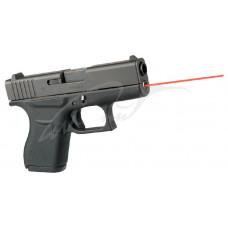 Целеуказатель LaserMax для Glock43 червоний
