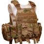 Жилет тактичний TAR Tactical Vest Multicam NIJ IV (ДСТУ 4 клас) 7,62х54R куля Б-32 4 пластини: передня з  - Фото 2