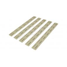 Накладка BCM защитная 5.5'' на цевье M-Lok (5 шт. в уп.) цвет: песочный