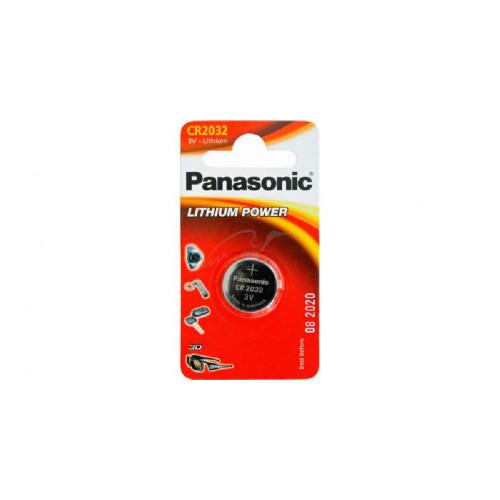 Батарея Panasonic CR 2032 BLI 1 LITHIUM  - Фото 1