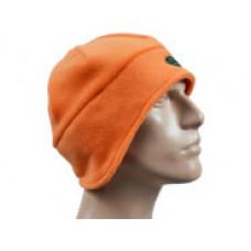Шапка з полар-флісу з видовженими вухами, помаранчева