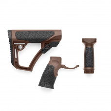 Набір Daniel Defense (приклад,пистол.ручка,рукоятка перекладу вогню) Milspec Brown