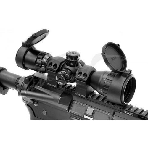 Кільця Leapers UTG PRO P. O. I. d - 1 (25.4 мм). Medium. Weaver/Picatinny  - Фото 5