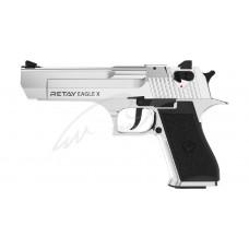 Пістолет стартовий Retay Eagle X кал. 9 мм. Колір - nickel