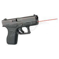 Целеуказатель LaserMax для Glock42 червоний