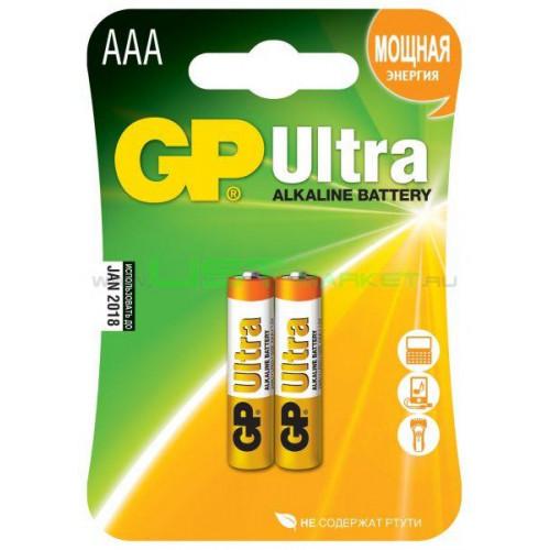 GP24AU-U2 LR03 Батарейка  - Фото 1