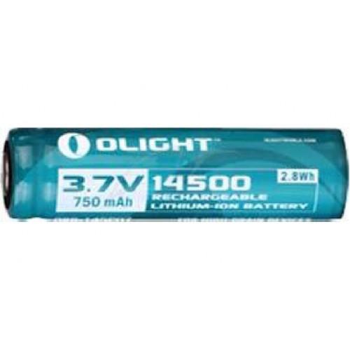 Аккумуляторная батарея Olight 14500 3,7V 750mAh  - Фото 1