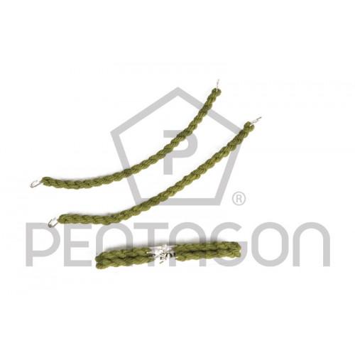 Гумка для черевиків 'Pentagon' (зелена) 2шт  - Фото 1