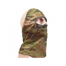 Маска з сітки для обличчя та шиї Multicam