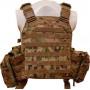 Жилет тактичний TAR Tactical Vest Multicam NIJ IV (ДСТУ 4 клас) 7,62х54R куля Б-32 4 пластини: передня з  - Фото 3