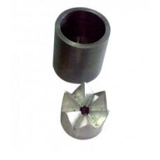 Матриця УПС 'зірочка' КОРОНА сталева (корона + бочонок)