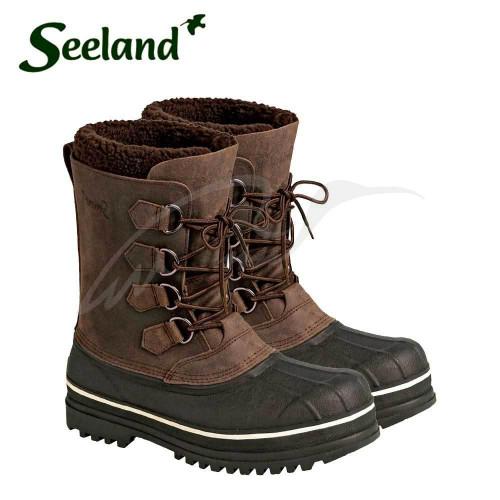 Ботинки Seeland Grizzly Pac 10. Размер - 9. Цвет - коричневый  - Фото 4