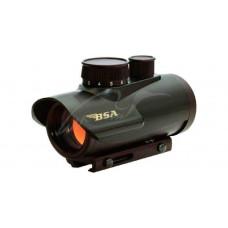 Приціл коліматорний BSA-Optics Red Dot RD30. Weaver/Picatinny
