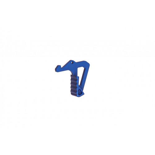 Збільшена лапка для рукоятки заряджання (синя)  - Фото 1