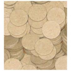 Прокладки на порох картонні 12М (Під металеву гільзу) товщ. 3 мм (200 шт.)