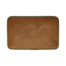 Настільний килимок Fox Leather Mat. Колір - brown