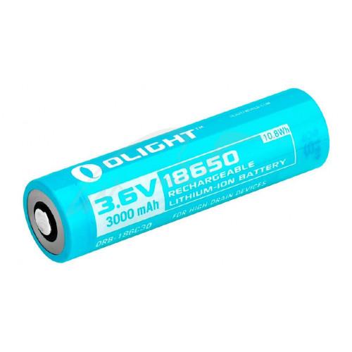 Акумуляторна батарея Olight 18650 Li-Ion 3000mAh для H2R  - Фото 1