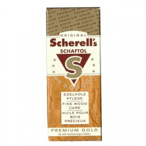 Scherell's Schaftol Premium gold олія для дерева золоте преміум 50 мл  - Фото 2