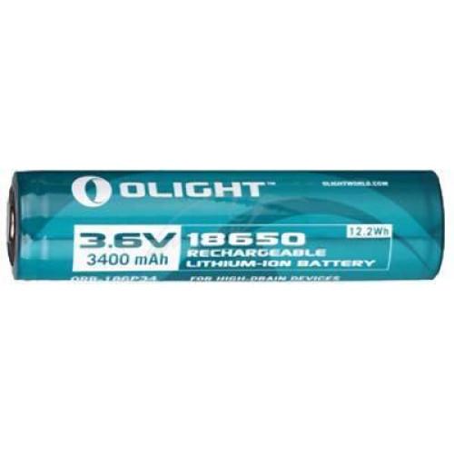 Акумуляторна батарея Olight 18650 3.6 V 3400mAh з кейсом  - Фото 2