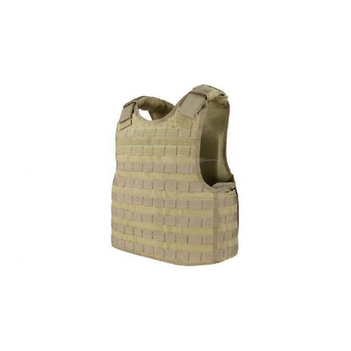Жилет тактичний Condor Defender Plate Carrier ц:coyote tan  - Фото 1