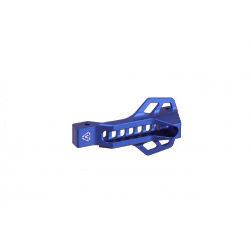 Захисна пластина спускового гачка c майданчиком для пальця (синя)  - Фото 1