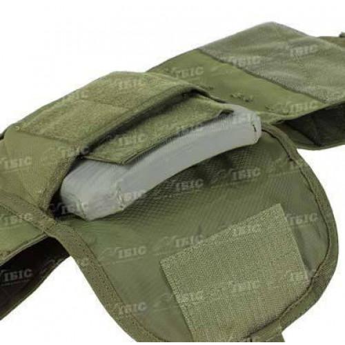 Жилет тактичний Condor Defender Plate Carrier ц:olive drab  - Фото 4