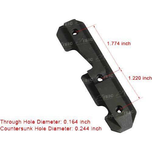 Бічна Планка Leapers UTG Sporting Type для AK. Висота - 7,62 мм. Ластівчин хвіст  - Фото 3