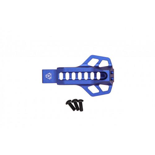 Захисна пластина спускового гачка c майданчиком для пальця (синя)  - Фото 3