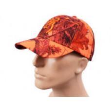 Кепка сигнальная оранжевая камуфляж