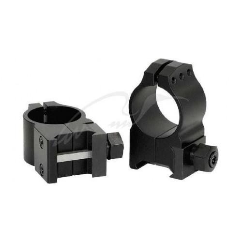 Кільця Warne Tactical Fixed Ring. d - 30 мм. High. Weaver/Picatinny  - Фото 1