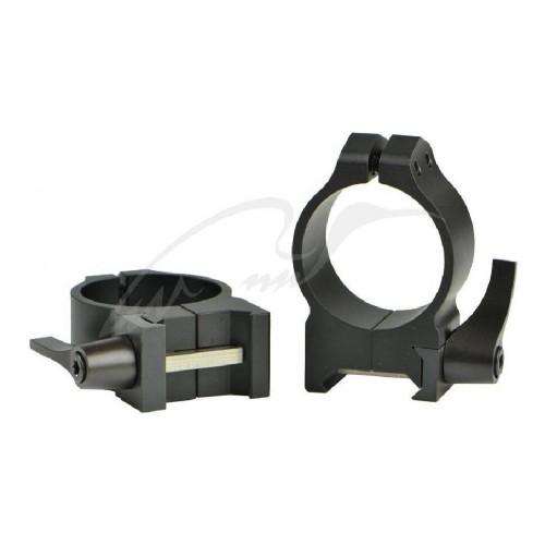Кільця швидкознімні Warner. Maxima Quick Detach Ring. d - 30 мм. Medium. Weaver/Picatinny  - Фото 1