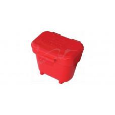 Коробка MTM Ammo Belt Pouch для патронов кал. 22 LR, 22 WMR и 17 HMR с креплением на пояс. Цвет – красный.