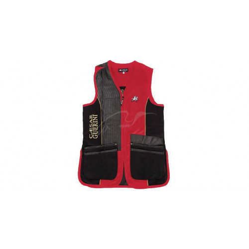 Жилет Caesar Guerini RED & BLACK M  - Фото 1