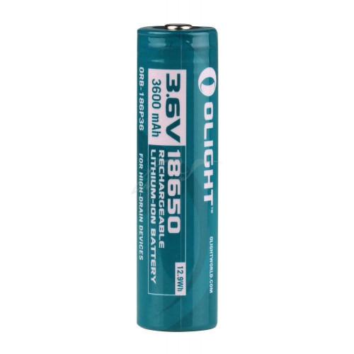Акумуляторна батарея Olight 18650 3600mAh  - Фото 2