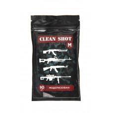 Серветки 'Clean shot' М 'Модернізовані', 10шт