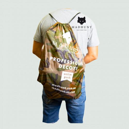 Рюкзак на 40 черепашок вяхиря. Madhunt  - Фото 1