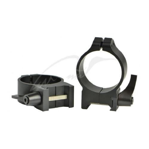 Кільця швидкознімні Warne Maxima Quick Detach Ring. d - 34 мм. Medium. Weaver/Picatinny  - Фото 1