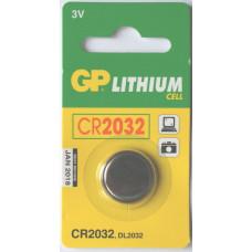 Батарейка GP CR2032-U5